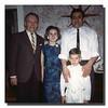 George Gagan, Arlene (Gagan), Wilfred Jr. & Michael Hall on Michael's first communion day, 1965.
