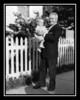 Cheryl Ann Hall & Pepere George Gagan, 1956.