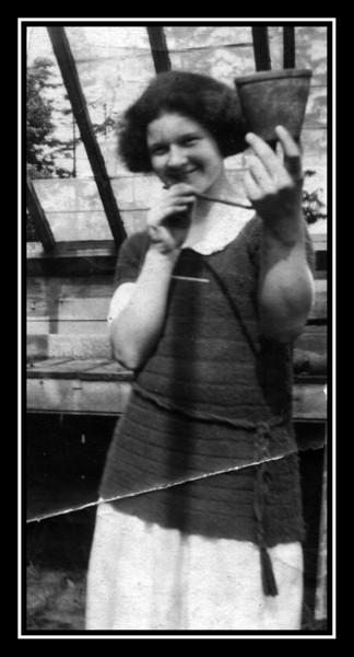 """Evelyn """"Pearl"""" Brodeur, date unknown."""