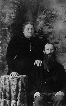Martin and wife