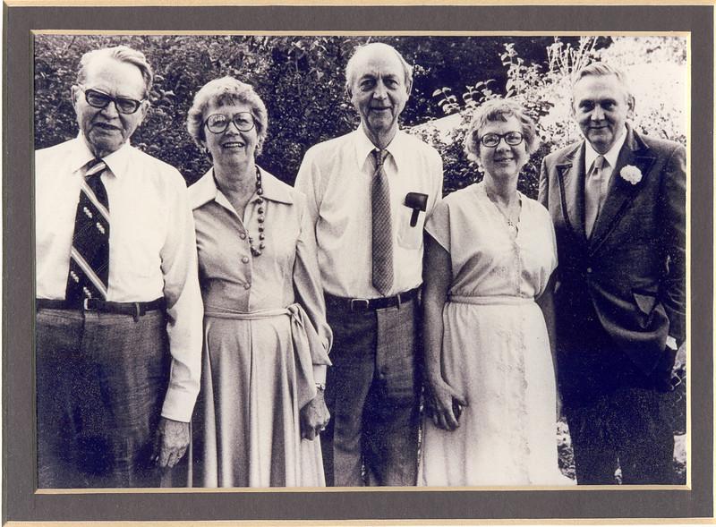 Family at Edda's Wedding