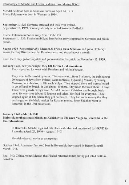 Chronology pg1