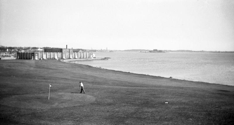 Antique golf
