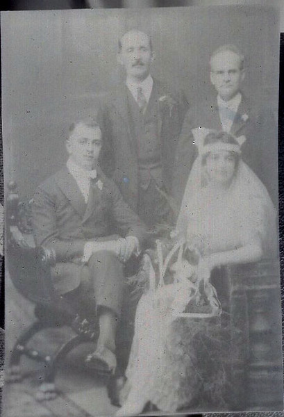 Horace and Mary Fagnant Wedding