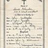 1922 John Gallagher Baptism Certificate
