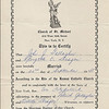 1945 Marriage Certificate for John and Georgette Gallagher
