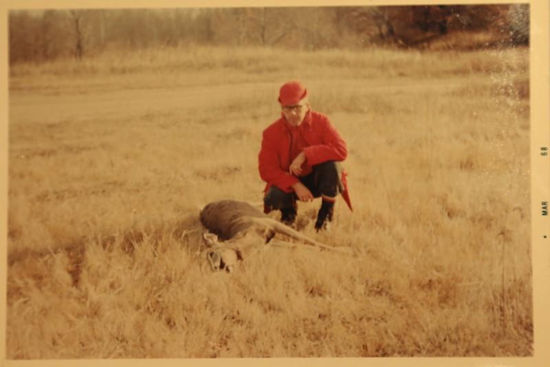 Sonny with Deer