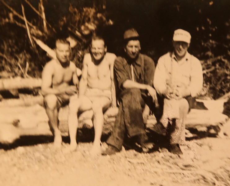 Arnold, Bernie, Carl Knutilla and Earl