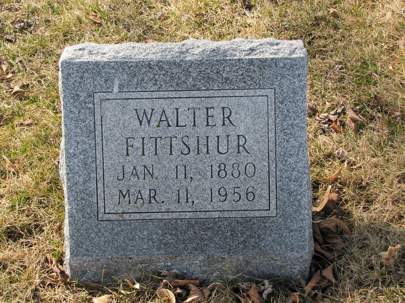 Walter Fittshur, son of Leroy and Alvira Fittshur