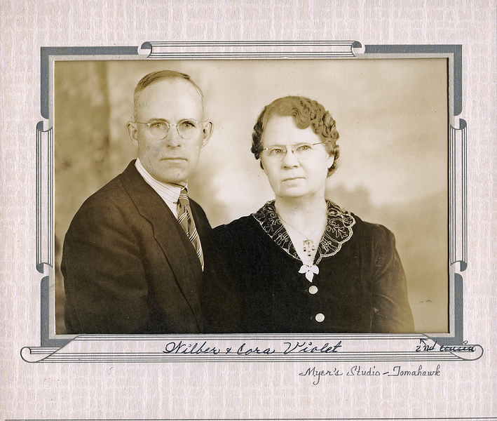 Wilber and Cora Violette