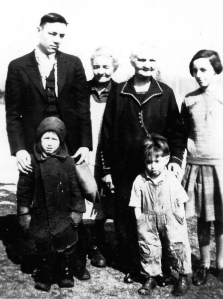 Josephine and Jane's families