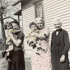 Four Generations: Olive with daughter Mary Jane, Mary and Clark, and Jane Blasier