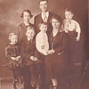 Loisa, Wesley in back,<br /> Olive, Wendell, Wilbur, Mary and Reuben in front.