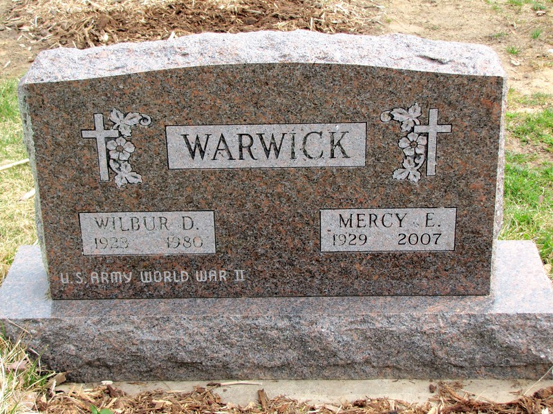 Wilbur and Mercy Warwick
