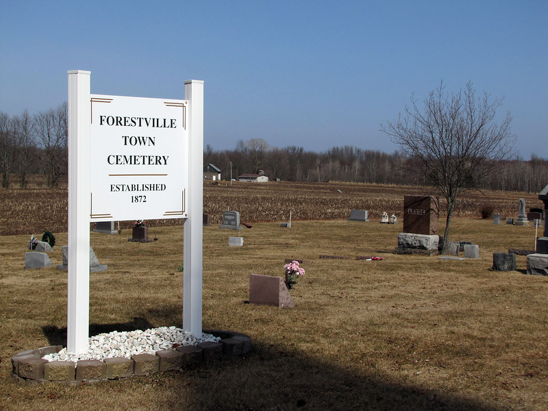 Forestville Town Cemetery, Maplewood, WI
