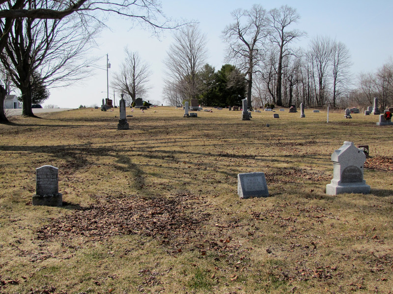 Fittshur family graves at Forestville Town Cemetery, Maplewood