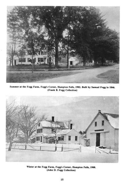 Samuel Fogg (1777-1825) in Hampton, New Hampshire, 1805