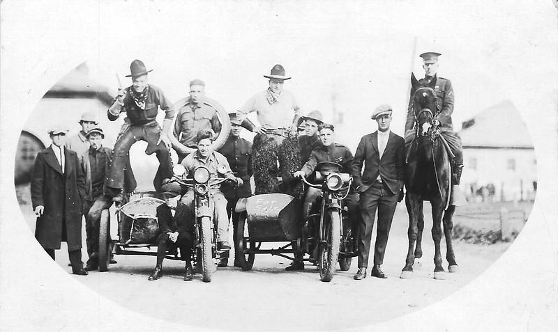 The Black Horse Troop.