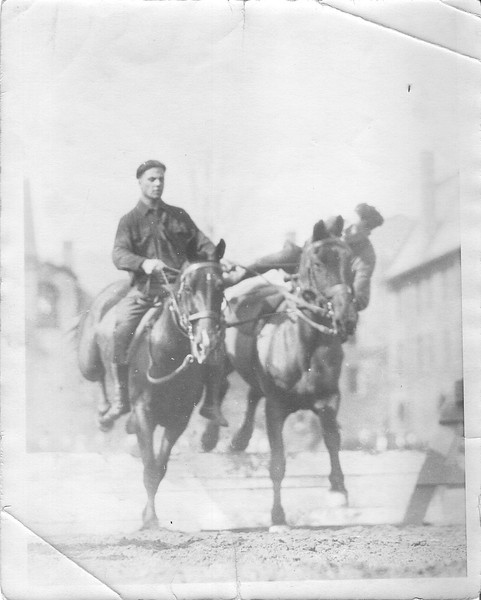 Stunt riders of the Black Horse Troop