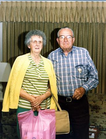 Maureen and Glenn Foote at Uncle Carl's, May 1987