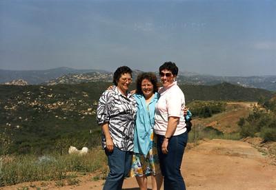 """""""The girls""""- Barbara, Shirley and Judy- Jamul, CA, May 1987"""