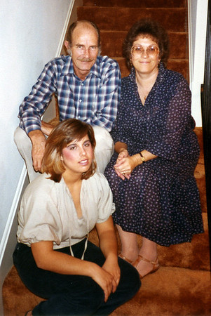 Jim and Barbara Page with daughter Erin