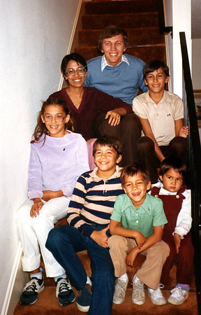 Glenn and Maureen's son Bruce and Barbara Foote with children Patricia, Christopher, Michael, Nicholas and Elizabeth