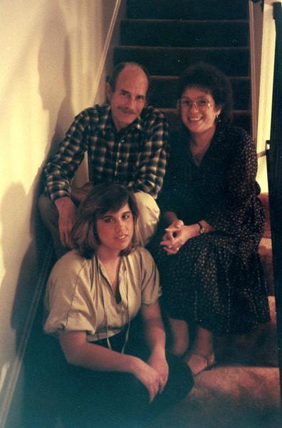 Jim, Barbara and Erin Page