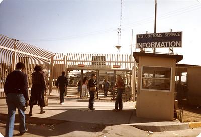 Judy and Kerri- Crossing the border to Tijuana