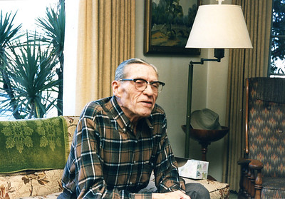 Uncle Carl Foote, May 1987
