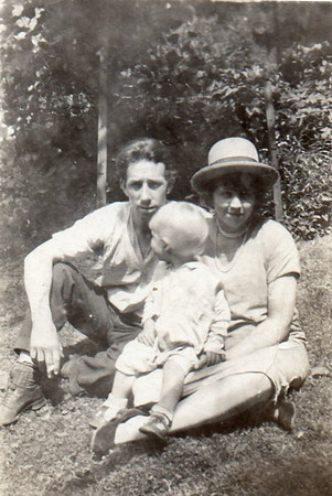 Bill Sr., Ella and Bill Jr.