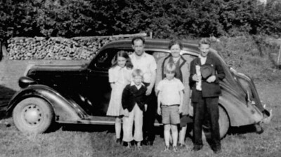 Foote family- Bill, Ella, Jr., Dot, Jim & Rod