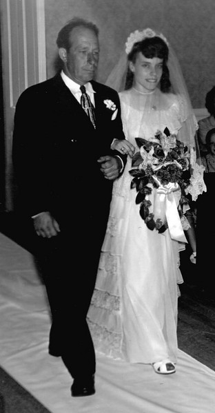 Father of the bride- Bill & Dorothy Foote