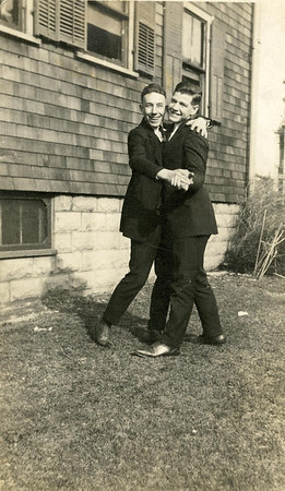 Bill Foote and friend