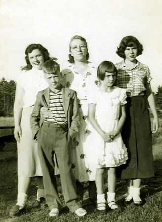 Glady Russel's family