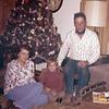 Kay, Brian, and Bud Galey - Christmas 1968