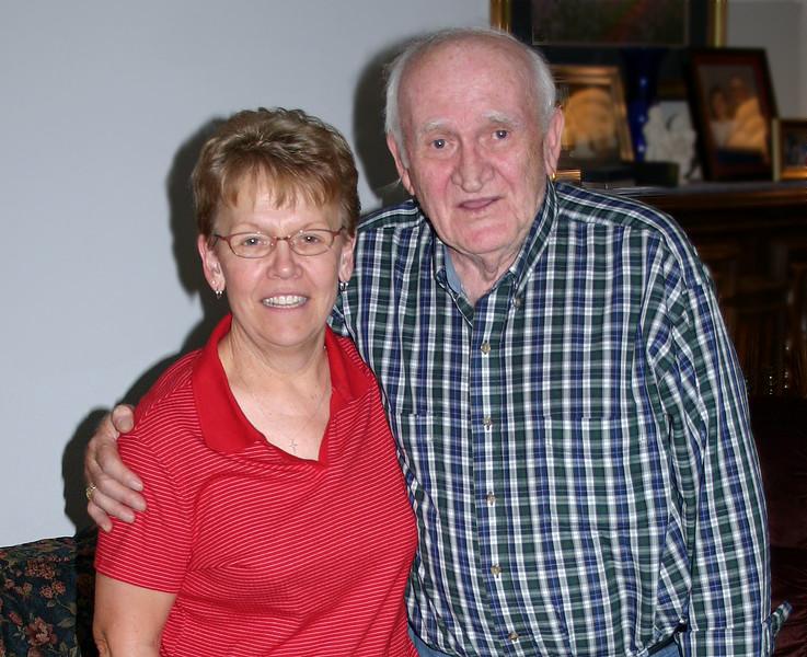 Karen Miller and Warren Galey