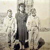 Geraldine Kritenbrink and sons, Roger and Kenny - Undated