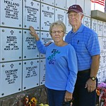 Karen and Larry Miller at Black Hills Cemetery Columbarium