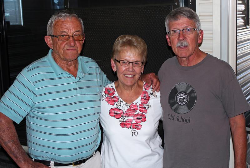 Gary Galey, Karen (Galey) Miller, and Jon Blosser