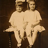 Geraldine and Eva Cunningham - circa 1914