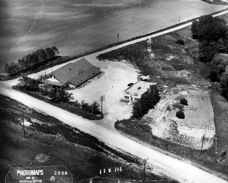 Kelso Pavilion just east of Chadron, Nebraska - 1953