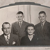 Abe, Roger, Geraldine and Kenny Kritenbrink - Undated