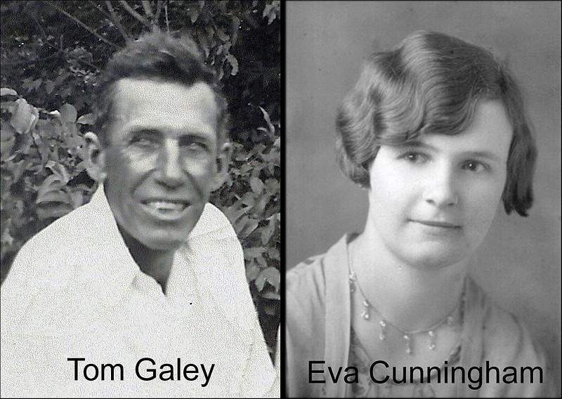 Tom and Eva (Cunningham) Galey