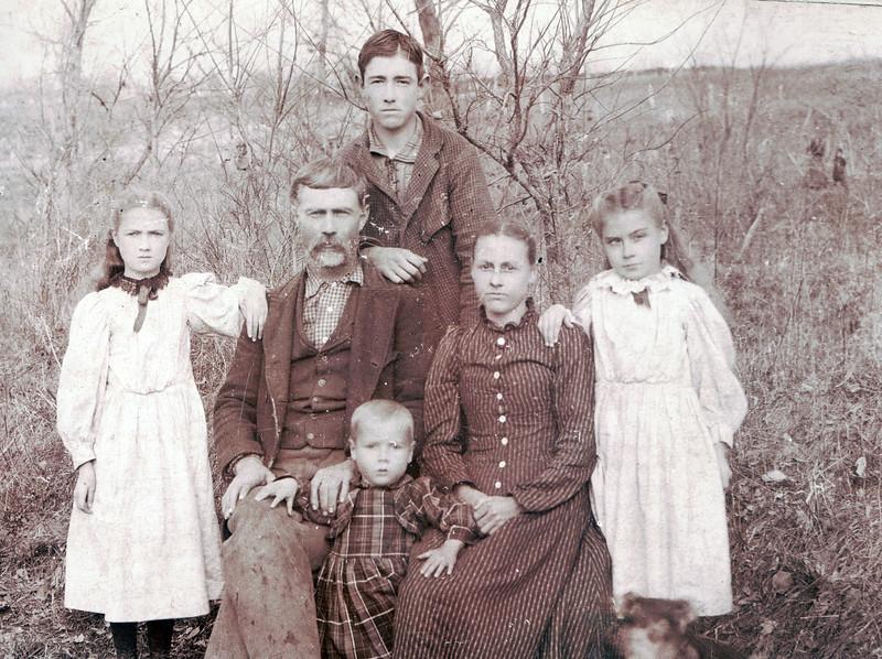 Howard and Jane Kelly family