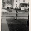 Steve & Mark Gardner, Grandpa Owens front yard of Owens House
