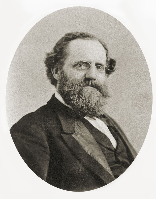 Rudolph Pierre Garrigue: 1822 - 1891.