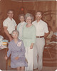 "1978: <br /> Standing: George McGee, Hazel Dean McGee Tubbs, Thelma ""Puddin"" McGee Kelley, Hugh McGee.<br /> Sitting: Willie Belle Bowen McGee."