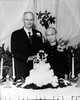 Original print of Walter Digg Gean, Roxie Ann Pears Gean on their 50th wedding anniversary.<br /> December 25, 1949