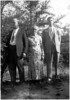 "David Martin Gean, Sr., Brother of Walter Diggs Gean<br /> Alma Freeman Gean<br /> ""Buster""--David Martin Gean, Jr.<br /> Date Unknown"